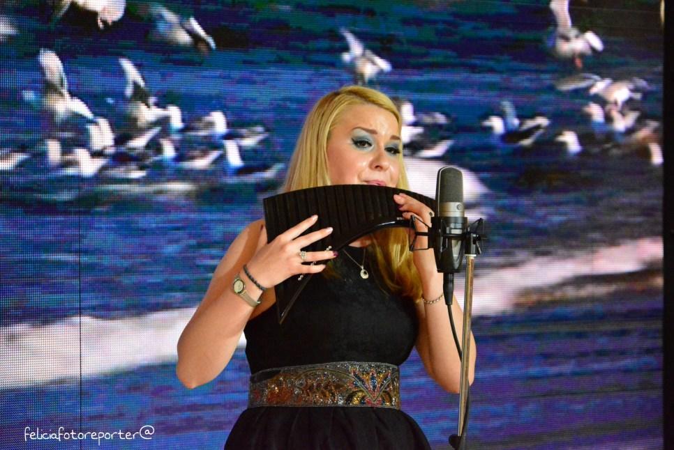 Invito. Recital Flauto di Pan -Mariana Preda. Padiglione della Romania.