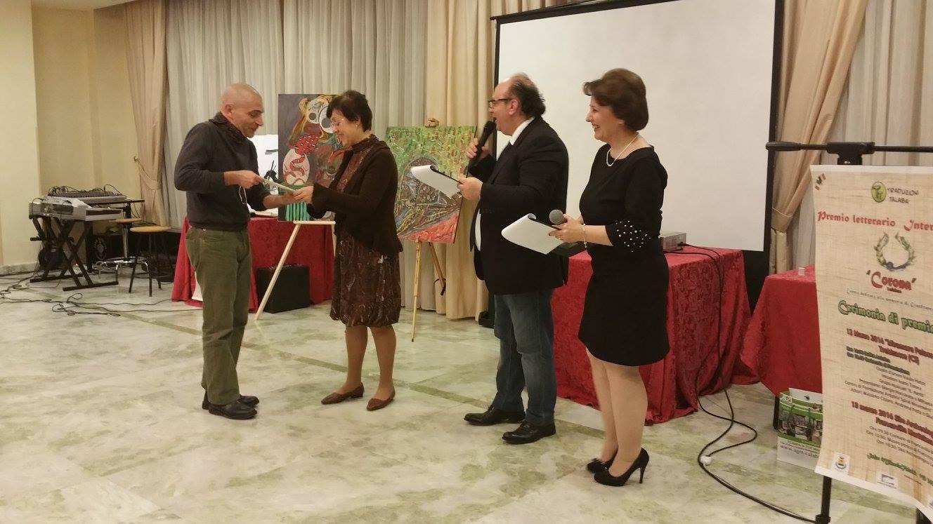 Florentina Nita premiata in Calabria
