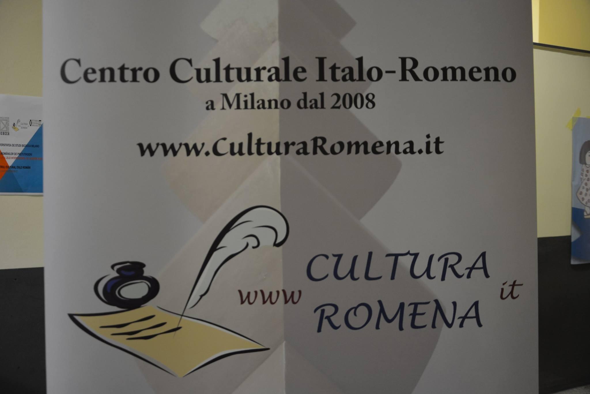 """Testimonianza di cultura romena alla """"Giornata Interculturale"""" dell'Università Bicocca di Milano"""