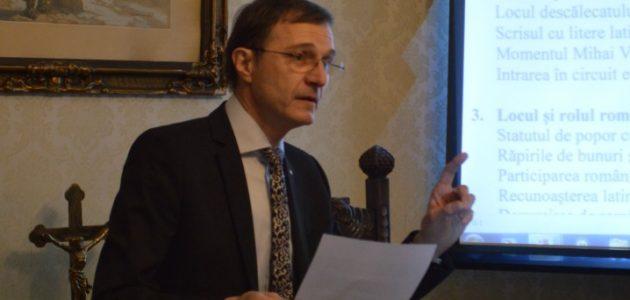 """Ioan Aurel POP """"La coscienza latina dei Romeni negli autori italiani del Rinascimento"""""""
