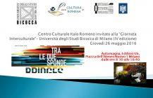 """Centro Culturale Italo Romeno alla """"Giornata Interculturale""""- Università degli Studi Bicocca di Milano (IV edizione) 26 maggio 2016"""