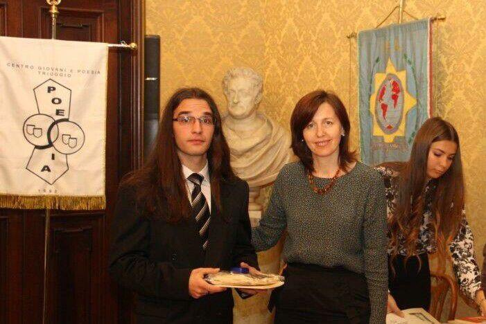 Foto. Festivitatea de premiere a câștigătorilor din România si Republica Moldova la Premiul International de Poezie  din Triuggio (MI)  a 25-editie