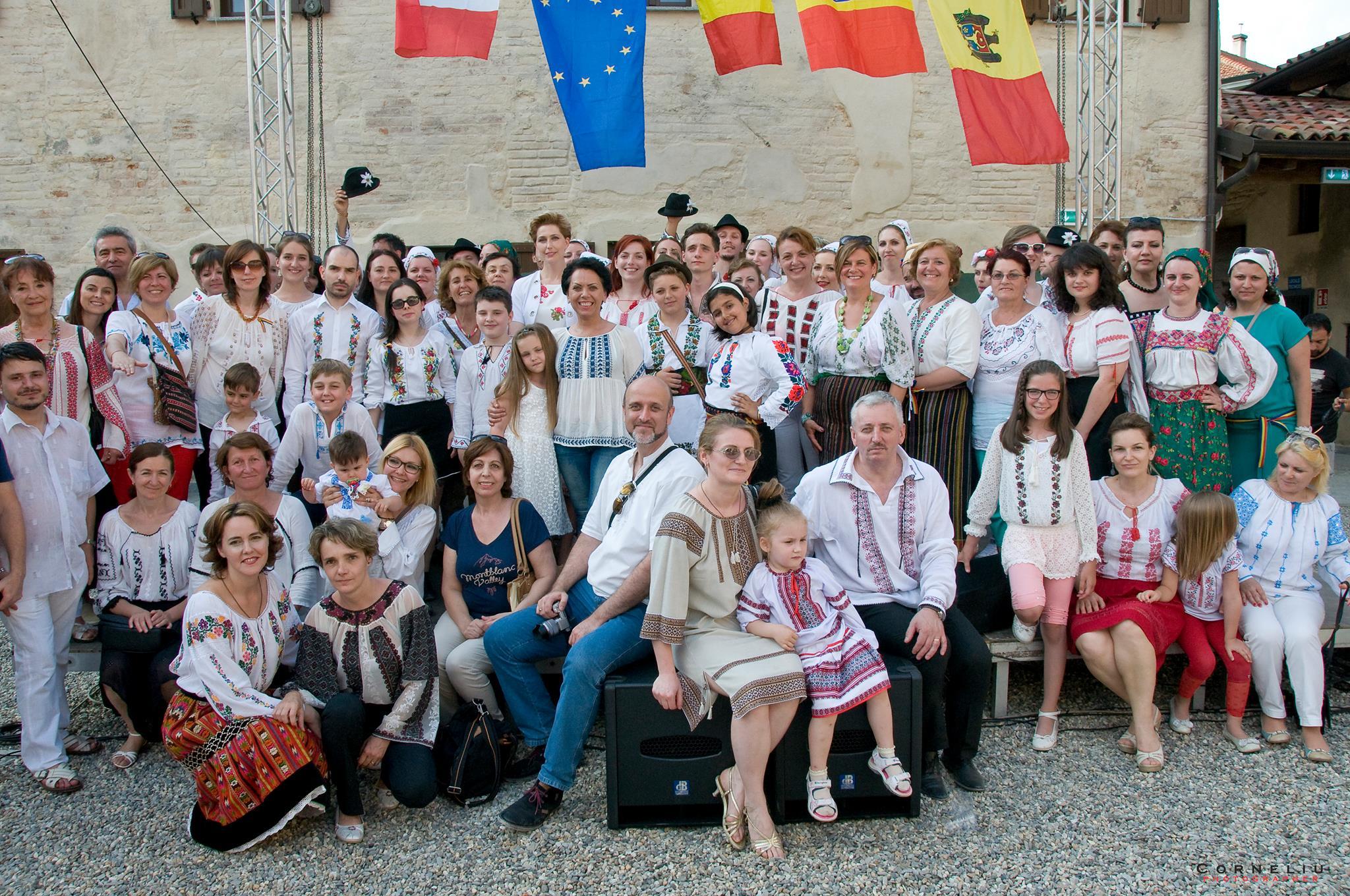 Românii și italienii împreună de Ziua IEI la Milano