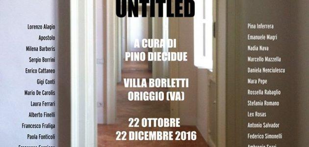 """Villa Borletti di Origgio. L'artista Daniela Nenciulescu espone alla mostra collettiva """"UNTITLED"""""""
