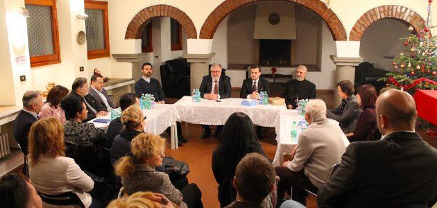 Scrisoarea ambasadorului României în Italia, Excelența Sa, George Bologan adresată CCIR la aniversarea a opt ani de activitate