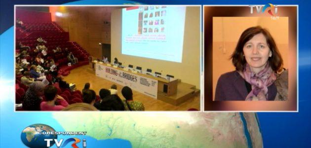 In cadrul emisiunii Corespondent TVRI un interviu dedicat activității CCIR  de la Milano