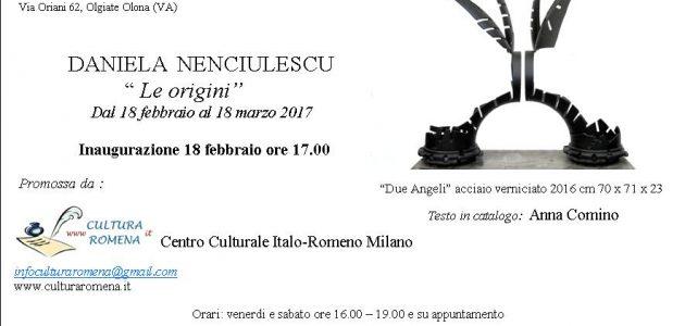Mostra dell'artista Daniela Nenciulescu a Varese
