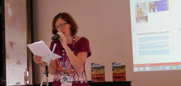 Romeni in Italia: Violeta Popescu  «Il missionarismo culturale tra Romania e Italia»