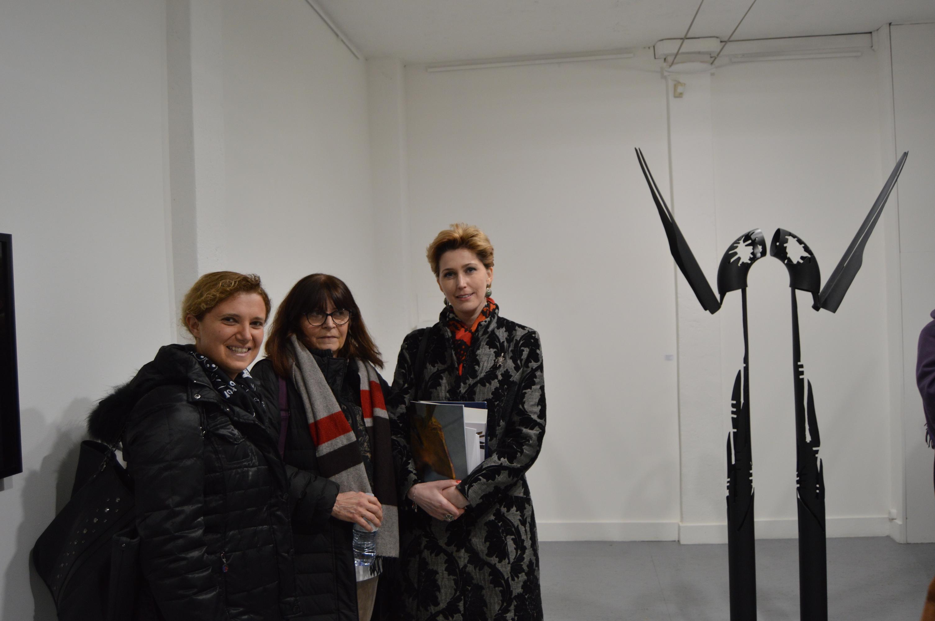 Mostra di Daniela Nenciulescu e Paolo Borrelli
