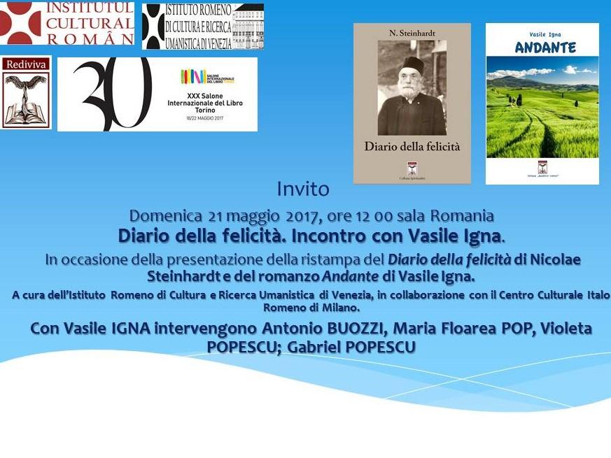 Edizioni Rediviva di Milano presente al Salone Internazionale del Libro di Torino 21 maggio 2017