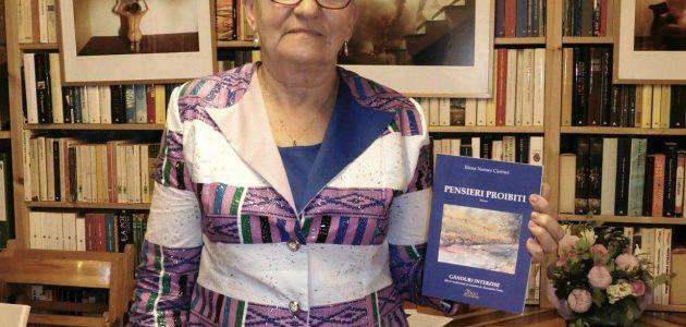 """FOTO. Librăria Popolare din Milano a găzduit lansarea volumului """"Gânduri interzise"""" al autoarei Elena Nemes Ciornei"""