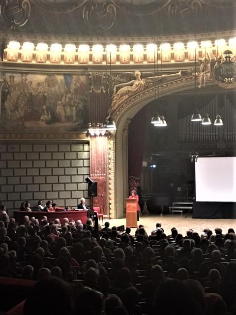 """La Rivista """"Memoria""""-La rivista del pensiero imprigionato –ha festeggiato il centesimo numero all'Ateneo di Bucarest"""