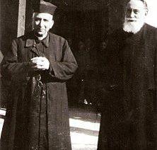 Maguzzano e Visarion Puiu esule giunto dalla Romania
