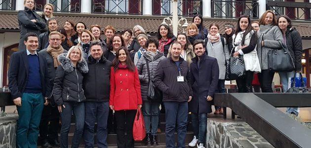 Docenti di 7 paesi in scambio di esperienza in Romania in un progetto europeo Erasmus