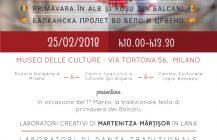 Festa della primavera in Romania, Bulgaria, Repubblica Moldova e Macedonia al Museo delle Culture del Mondo di Milano