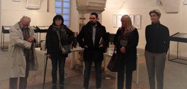 """Inaugurarea expoziției italo-române a cărților de artist: """"Răscruce"""" la Palazzo Broletto din Pavia"""