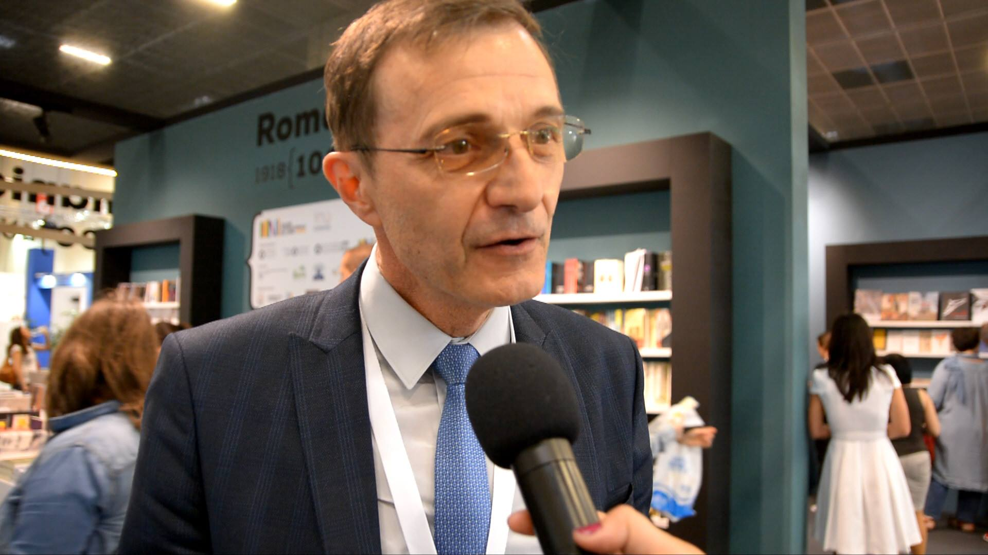 Video intervista: Ioan Aurel Pop, Presidente dell'Accademia Romena
