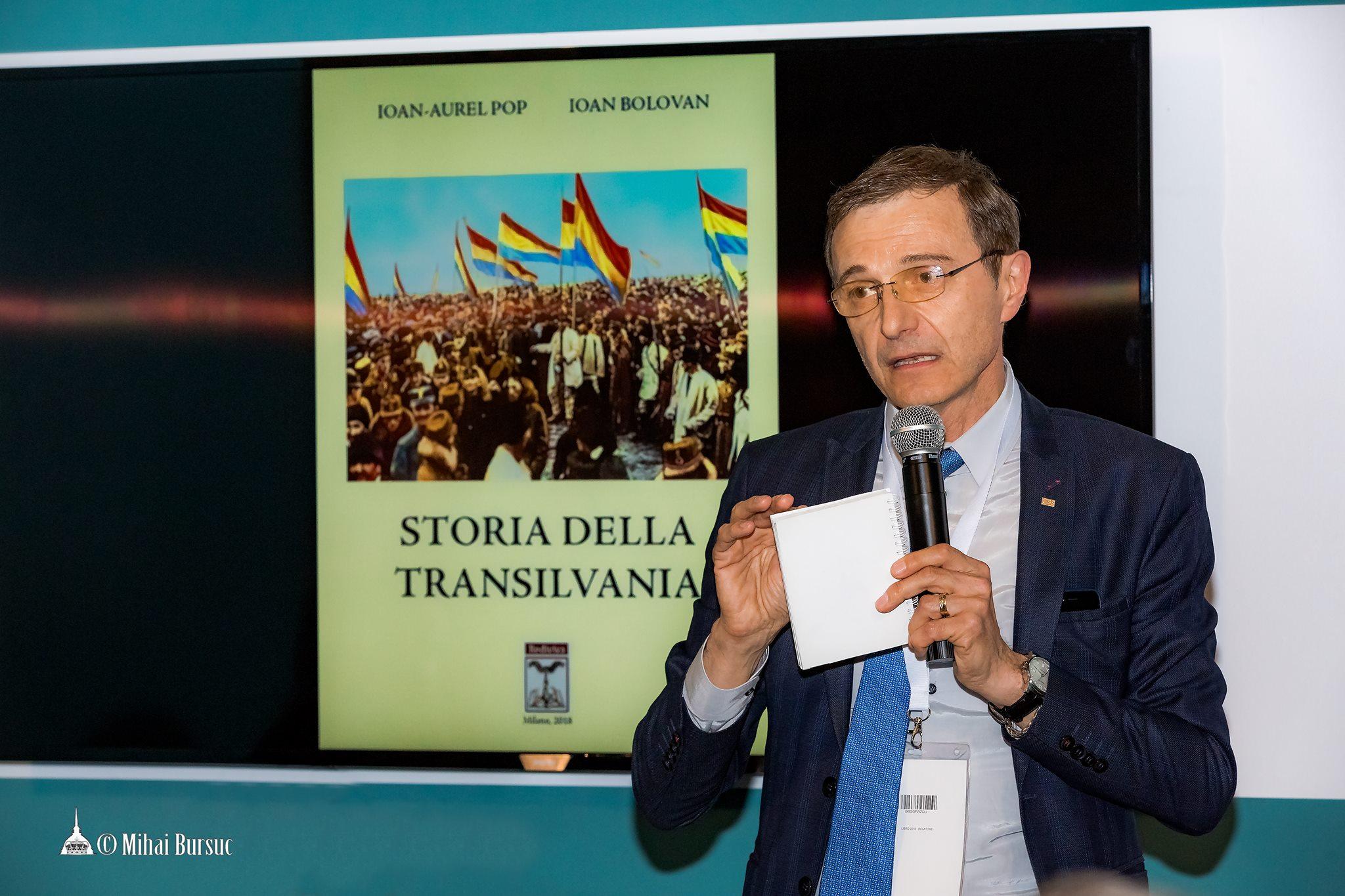 """Il volume """"Storia della Transilvania"""", grande successo al Salone del Libro di Torino 2018"""