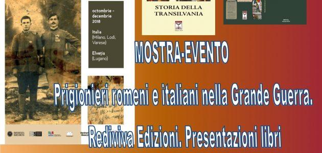Mostra-Evento nell'anno del Centenario della Grande Unione della Romania: Lugano, Milano, Varese, Lodi, Como