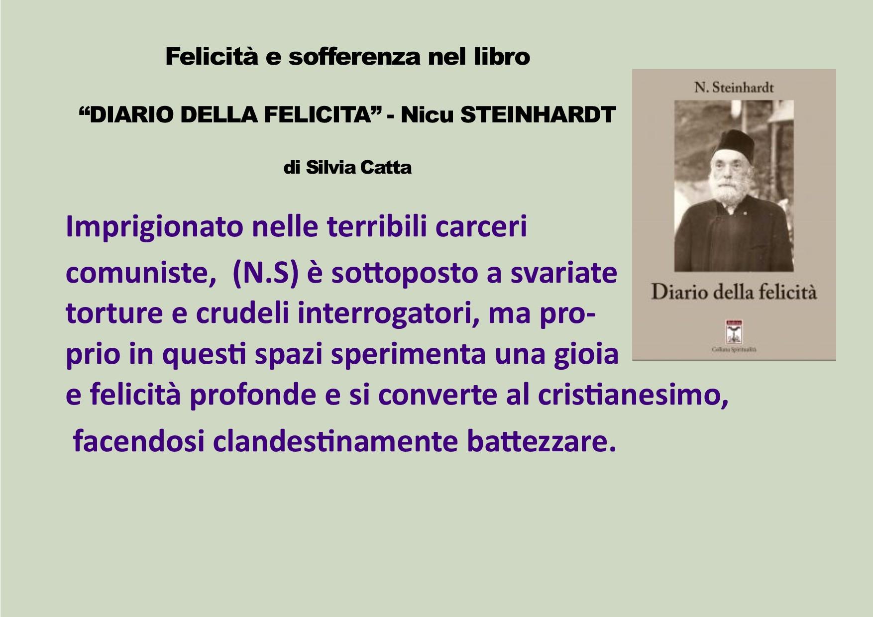"""Felicità e sofferenza nel libro """"Diario della felicità"""" di Nicu Steinhardt"""