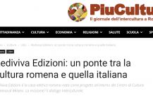 Rediviva Edizioni: un ponte tra la cultura romena e quella italiana