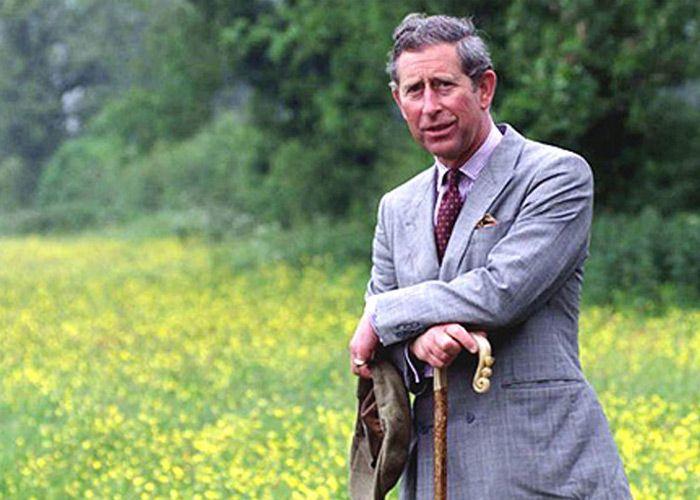 România negli occhi del principe Carlo della Gran  Bretagna