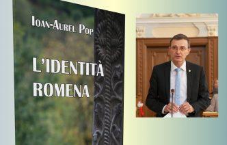 """Volumul """"Identitatea românească"""" de Ioan Aurel Pop, ediție în limba italiană, ed. Rediviva – Milano"""