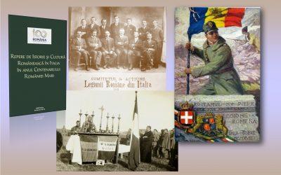 Pagini de istorie românească în Italia:  Legiunea Voluntarilor Români din Italia 1918