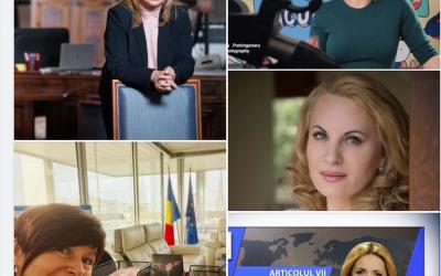 La Romania è Donna. Un'ambasciatrice, una scrittrice, una senatrice ed un'esperta d'arte