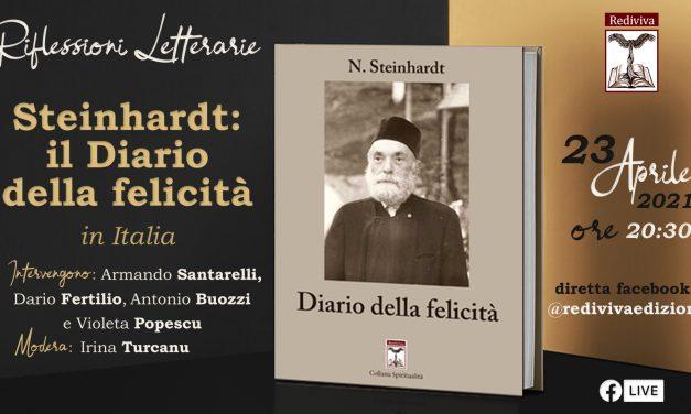 """Evento online: La ricezione del volume """"Diario della felicità"""" di Nicu Steinhardt in Italia"""