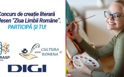 Milano. Concurs de creație literară și desen dedicat Zilei Limbii Române