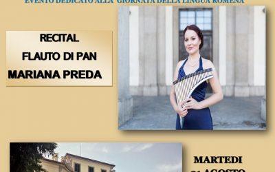 Ziua Limbii Române, sărbătorită prin lectură și muzică la Arcore, Italia